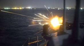 زوارق الاحتلال تستهدف قوارب الصيادين قبالة شواطئ خانيونس