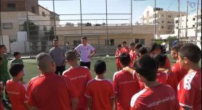 """أكاديمية الشهيد """"مأمون الخطيب"""" في مدينة بيت لحم .. مشروع وطني لتنمية المواهب الكروية منذ الصغر"""