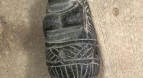 القبض على شخص بحوزته تمثال اثري في جنين