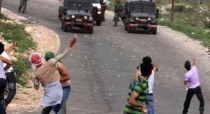 اصابة مواطن برصاص الاحتلال في عوريف جنوب نابلس