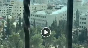 اصابات بانفجار نظام التدفئة المركزية في جامعة الخليل