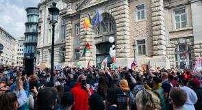 الجالية الفلسطينية في بلجيكا تطالب الحكومة بالتدخل الفوري لوقف سياسات الاحتلال