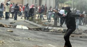 إصابة خطيرة لشاب بالرصاص الحي خلال مواجهات مع الاحتلال في البيرة