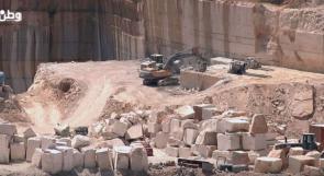 فيديو| محاجر تفوح.. ثروة طبيعية تعود بالضرر على سكان البلدة