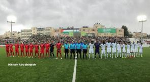 التعادل السلبي يحسم مباراة فلسطين-السعودية