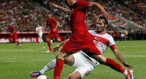 البرتغال تخسر امام تركيا وكرستيانو اضاع ركلة جزاء