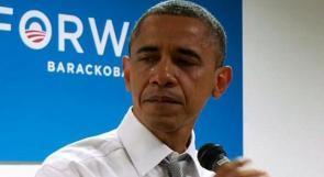 بالفيديو.. أوباما يبكى بعد انتخابه لفترة رئاسية ثانية