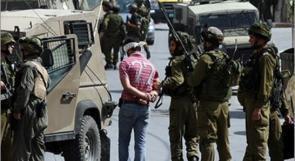 قوات الاحتلال تعتقل 7 مواطنين من الضفة