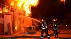 السيطرة على حريق داخل منزل في عين يبرود