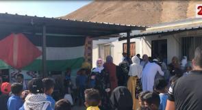 """منظمة البيدر للدفاع عن حقوق البدو تنظم يوماً ترفيهيا لأطفال التجمع البدوي """" عرب المليحات و الكعابنة """""""