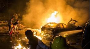 مصر: قتلى ومصابون في انفجار نتج عن تصادم سيارات بقلب القاهرة