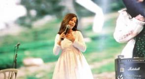 جالا تويمة ..  طفلة ناشئة في طريق احتراف الغناء