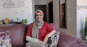 المهندسة ميس أبو حجلة.. حرفية في تصميم مجسمات تعليمية تجعل فهم الدروس أكثر وضوحا