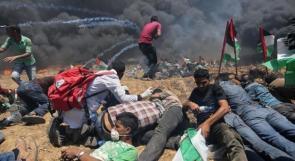 184 شهيدا و76 حالة بتر منذ نهاية آذار الماضي في غزة