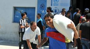 """""""الاونروا"""": المساعدات الغذائية العاجلة ستنفد بداية حزيران"""