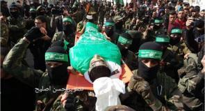 جماهير غفيرة تشيع جثمان الشهيد محمود النباهين شرق البريج