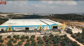 """"""" العامور """" .... صناعة للحديد بأيادٍ فلسطينية وبمواصفاتٍ عالمية"""
