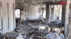 """مطعم """"بيتنا"""" في غزة من رائحة الطعام إلى رائحة البارود والدمار"""