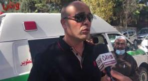 رجل الأعمال عدنان كواملة يتبرع بسيارة اسعاف لمركز طوارئ بيرنبالا، ويؤكد لـوطن جاهزيته لتبرعات أخرى