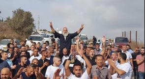 الاسير محمود جبارين يعانق الحرية بعد 30 عاما من الاعتقال