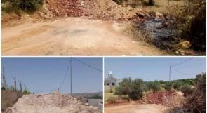 الاحتلال يغلق كافة مداخل بلدة بيتا، قبيل مظاهرة حاشدة على جبل صبيح