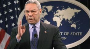 وفاة كولن باول وزير الخارجية الأمريكي السابق بعد إصابته بفيروس كورونا