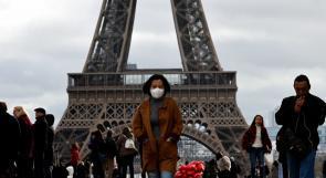 فرنسا تسجل أعلى حصيلة إصابات يومية بكورونا منذ بدء التفشي