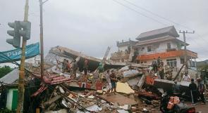 ارتفاع حصيلة ضحايا الانهيارات الأرضية في إندونيسيا إلى 25