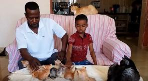 يرعى 50 قطا داخل بيته.. سلالة: مشروع محمية طبيعية ينبت في غزة!