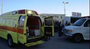 إصابة خطيرة لشاب بحادث سير في طمرة بالداخل