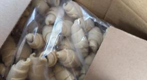 سلفيت | ضبط 120 كرتونة من المعجنات والفطائر المنتجة في المستوطنات