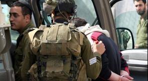 قوات الاحتلال تعتقل شابين من مخيم جنين