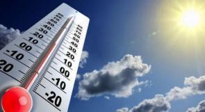 الطقس: ارتفاع درجات الحرارة