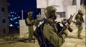 اعتقال الأسير المحرر وفا الداموني من نابلس وحملات دهم بالضفة