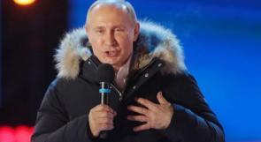 بوتين رئيساً لروسيا حتى 2024 بأكثر من 76% من الأصوات
