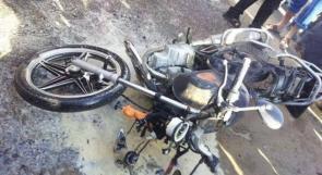 إصابة واحدة جراء استهداف صاروخي لدراجة نارية شرق غزة