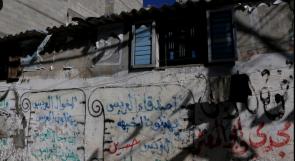 """خاص لـ""""وطن"""" بالفيديو .. غزة:  عائلة """"العمصي"""".. تسعة أفراد في مأوى متهالك سقفه من الصفيح"""