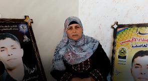 """""""سميرة""""... محرومة من رؤية ابنها الأسير تناشد الرئيس عبر وطن لمساعدتها"""