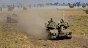 الاحتلال ينفذ مناورات عسكرية شرق جنين ويقتحم رمانة