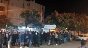 صور | مع بدء الانتخابات المحلية الإسرائيلية، مظاهرات بالجولان المحتل رفضا لها