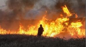 بفعل بالونات غزة ..7 حرائق بالمستوطنات المحاذية للقطاع