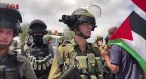وقفة احتجاجية على مصادرة الاحتلال أراضي المخرور في بيت جالا ببيت لحم