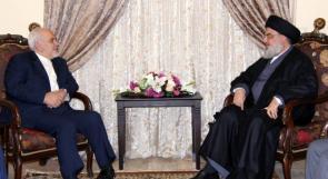 هذا ما جاء في برقية حسن نصرالله إلى وزير الخارجية الإيراني