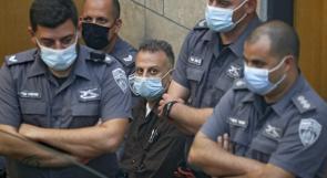"""محدث  الاحتلال يمدد اعتقال الأسرى الأربعة على ذمة """"الهروب من جلبوع"""""""