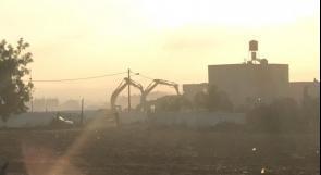 الاحتلال يهدم منزلين في قلنسوة بالداخل المحتل بزعم البناء دون تراخيص