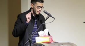 """الشاعر مهند ذويب يطلق مجموعته """"ولا أريكم ما أرى"""" في متحف درويش"""