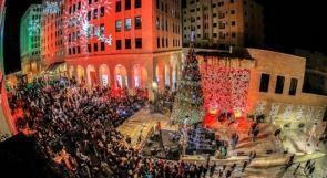 روابي تحتفل باضاءة شجرة الميلاد