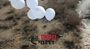 تواصل إطلاق البالونات المفخخة من قطاع غزة تجاه الأراضي المحتلة