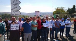 """""""نعم لقطع دابر الجريمة"""".. مظاهرات ضد الجريمة والعنف في كفركنا وحيفا"""