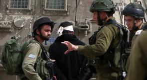 قوات الاحتلال تعتقل الشاب بهاء أبو بكر من يعبد